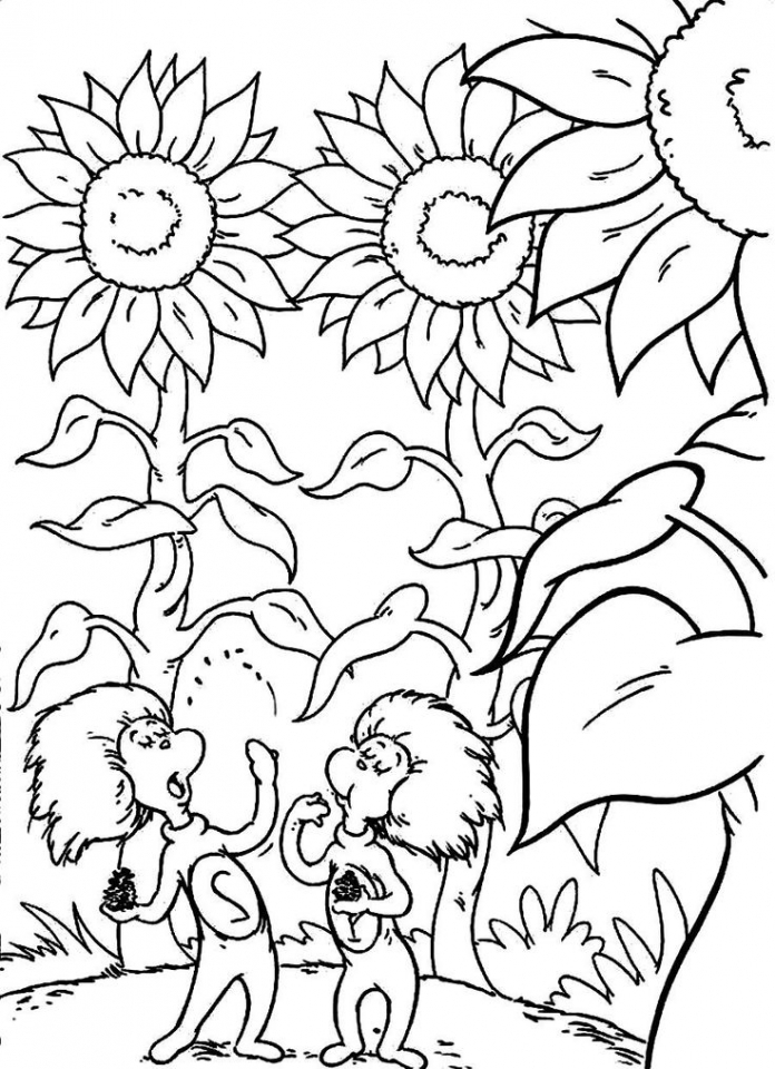 Free Dr Seuss Coloring Pages to Print   48168
