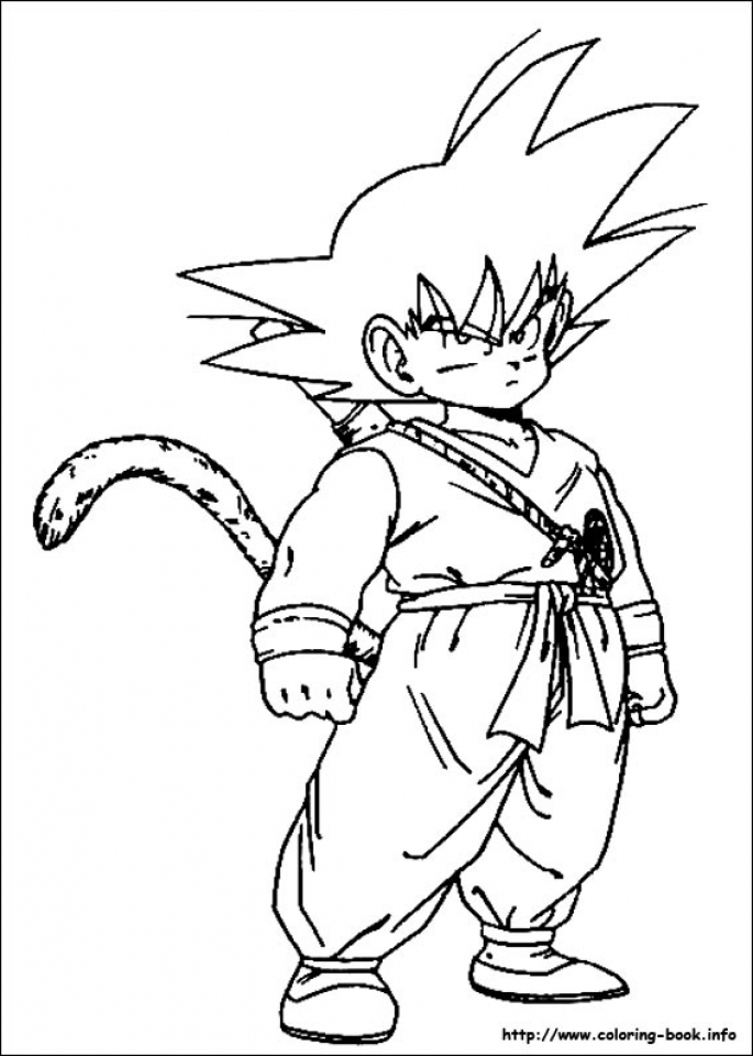 Free Dragon Ball Z Coloring Pages   68322