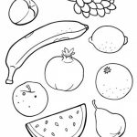 Free Fruit Coloring Pages   79776