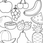 Free Fruit Coloring Pages to Print   61049