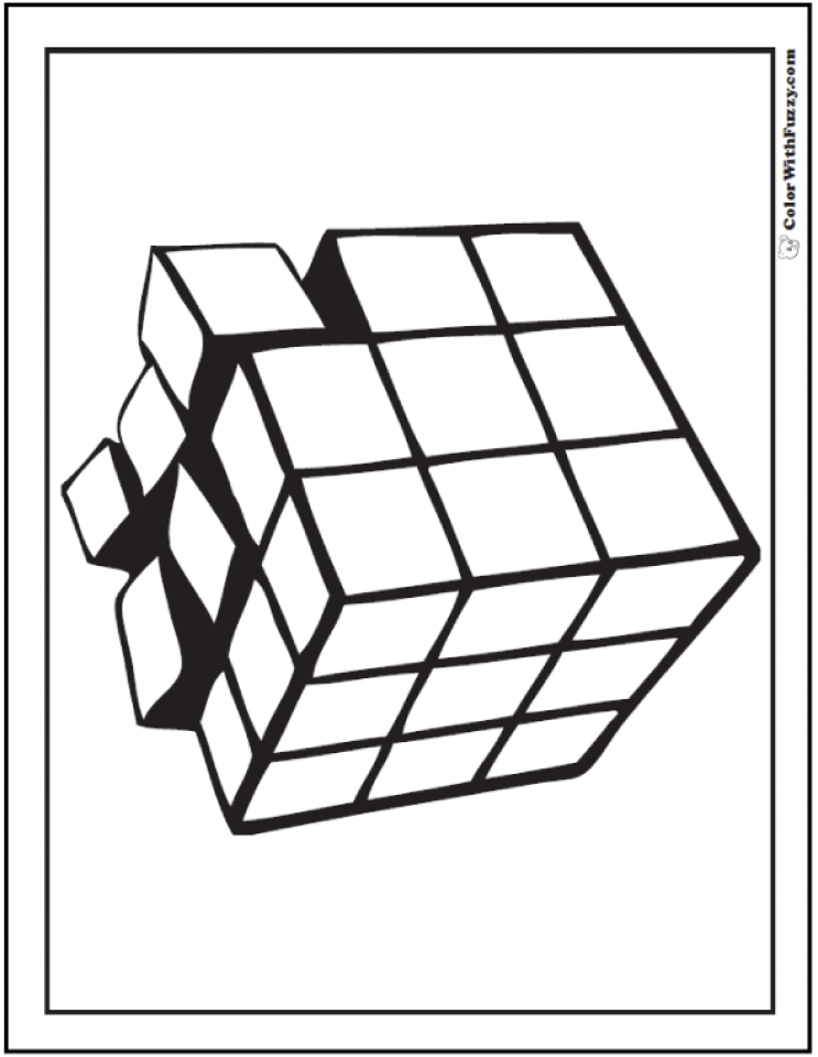 Get This Free Geometric Coloring Pages 46286