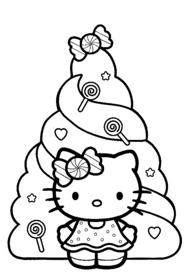 Free Kitty Printable Coloring Pages for Kids   70316