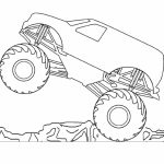 Free Monster Truck Coloring Pages   48925