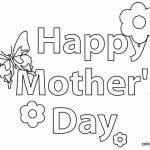 Free Mothers Day Kids Coloring Pages Printable   73872