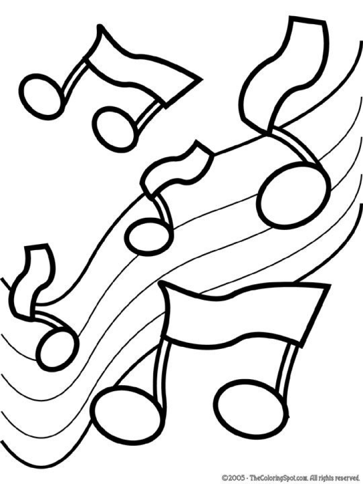 Free Music Coloring Pages for Kids   92180