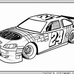Free Nascar Coloring Pages for Kids   92180