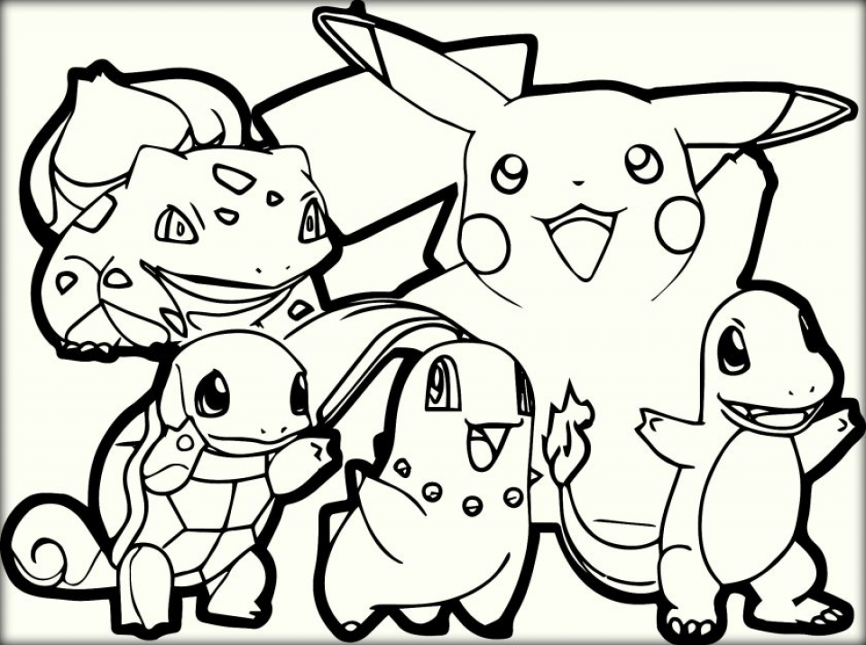 Get This Free Pokemon Coloring Page To Print 48058