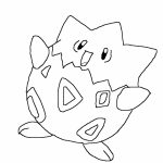 Free Pokemon Coloring Page to Print   551