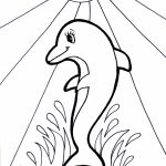 Free Printable Dolphin Coloring Pages for Kids   51627