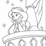 Free Printable Jasmine Coloring Pages Disney Princess   74890