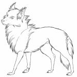 Free Printable Wolf Coloring Pages   90791