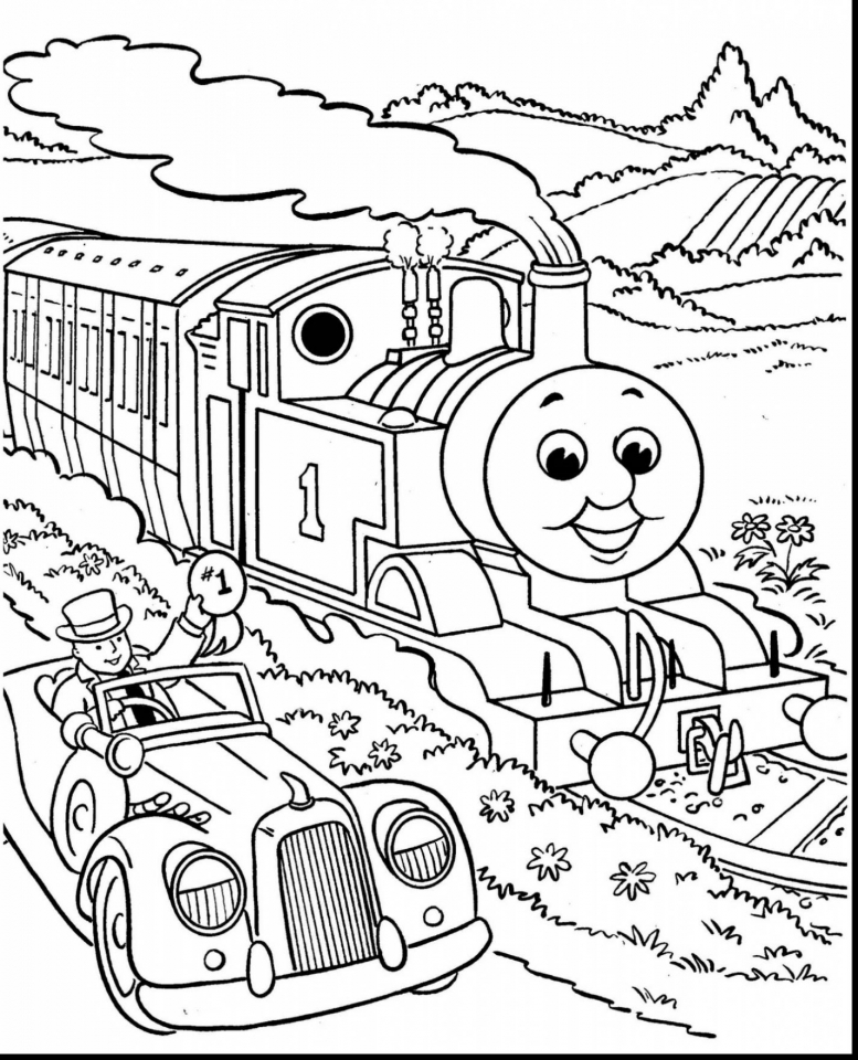Get This Free Thomas the Train Coloring Pages to Print 37721