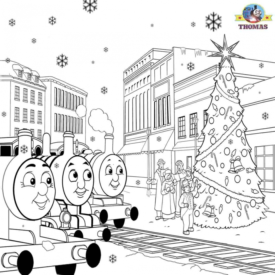 Free Thomas the Train Coloring Pages to Print   58933