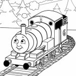 Free Thomas the Train Coloring Pages to Print   67414