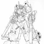 Free Transformers Printables to Color for Kids   76846