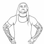 Free WWE Coloring Pages   95741