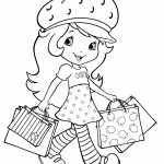 Fun Strawberry Shortcake Coloring Pages for Girls   12785