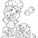 Fun Strawberry Shortcake Coloring Pages for Girls   27950