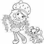 Fun Strawberry Shortcake Coloring Pages for Girls   51437
