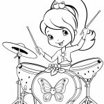 Fun Strawberry Shortcake Coloring Pages for Girls   68093