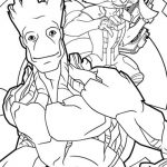 Guardians of the Galaxy All Characters Coloring Pages to Print   1625
