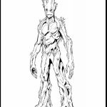 Guardians of the Galaxy All Characters Coloring Pages to Print   837201