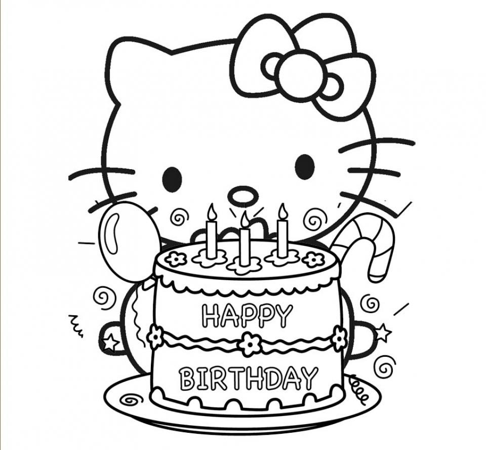 Happy Birthday Fruit Cake Image