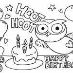 Happy Birthday Coloring Pages for Kids   61803