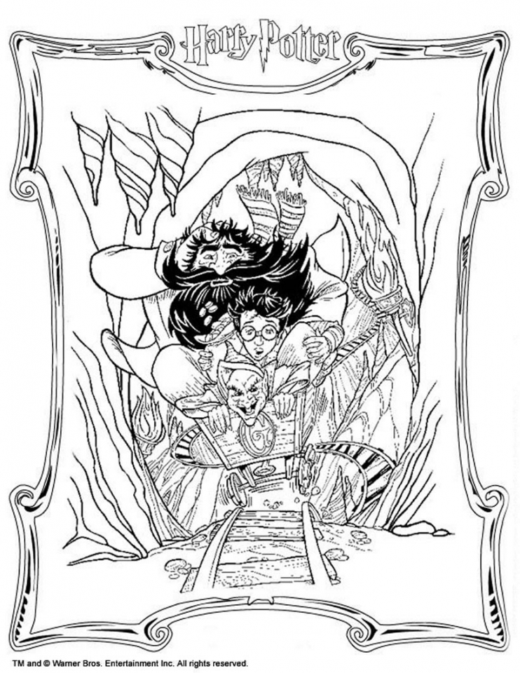 Harry Potter Coloring Pages for Teenagers   18963