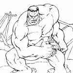 Hulk Coloring Pages Kids Printable   44612