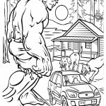 Hulk Coloring Pages to Print for Boys   31704