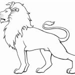 Lion Coloring Pages for Kids   31776