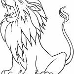 Lion Coloring Pages Free Printable   41664
