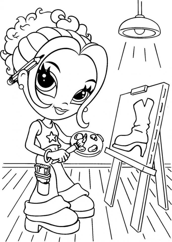 Lisa Frank Coloring Pages for Adults   88219