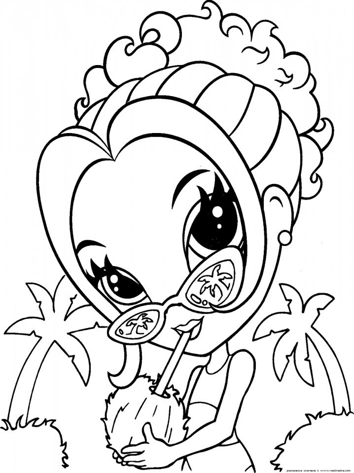 Lisa Frank Coloring Pages for Teenagers   63152