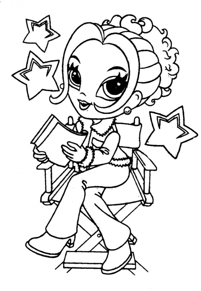 Lisa Frank Coloring Pages to Print   21672