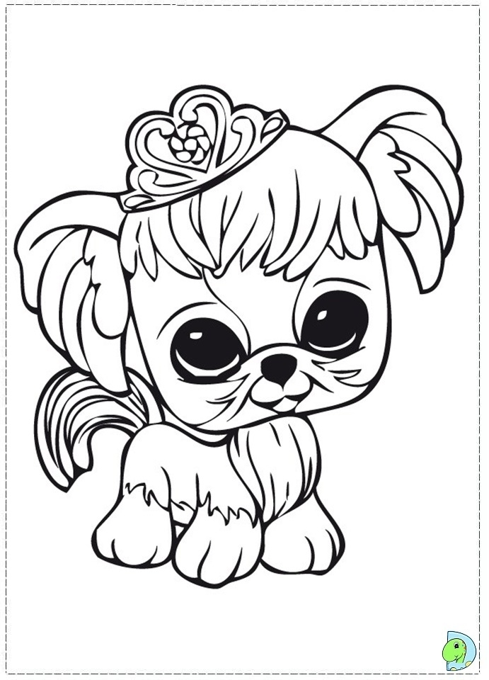 Get This Littlest Pet Shop Coloring Pages Free To Print