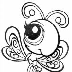 Littlest Pet Shop Cute Animals Coloring Pages for Kids   04816
