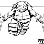 michaelangelo from teenage mutant ninja turtles coloring pages - 12721