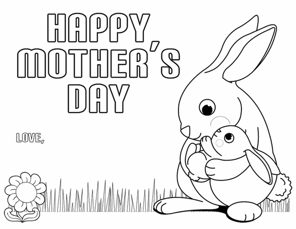 Motheru0027s Day Coloring Pages