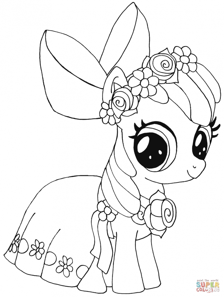 Get This My Little Pony Coloring Pages To Print For Girls