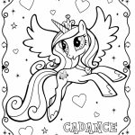 My Little Pony Coloring Pages to Print for Girls   91026