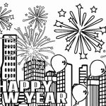New Years Coloring Pages Free to Print for Kids   29057