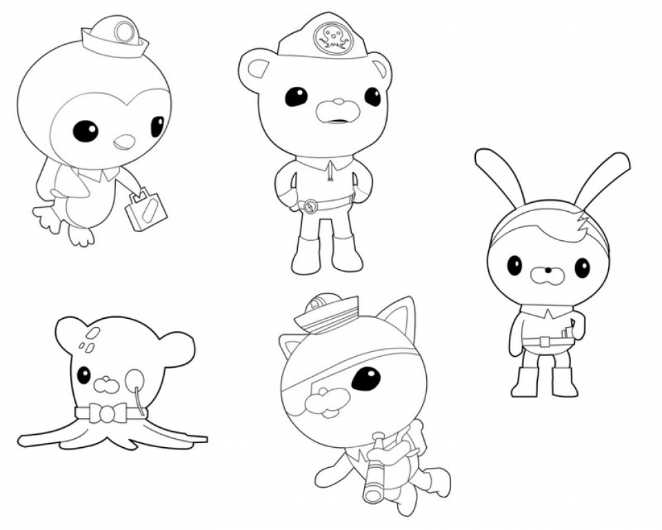 Octonauts Coloring Pages Free   07725