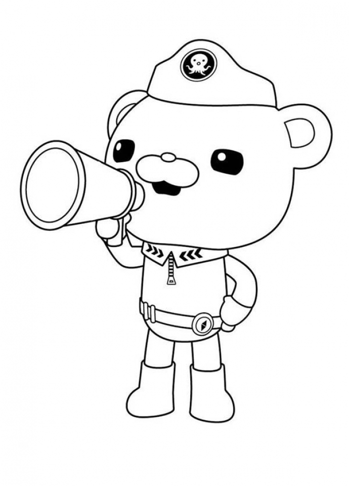 Get This Octonauts Coloring Pages Free 31071