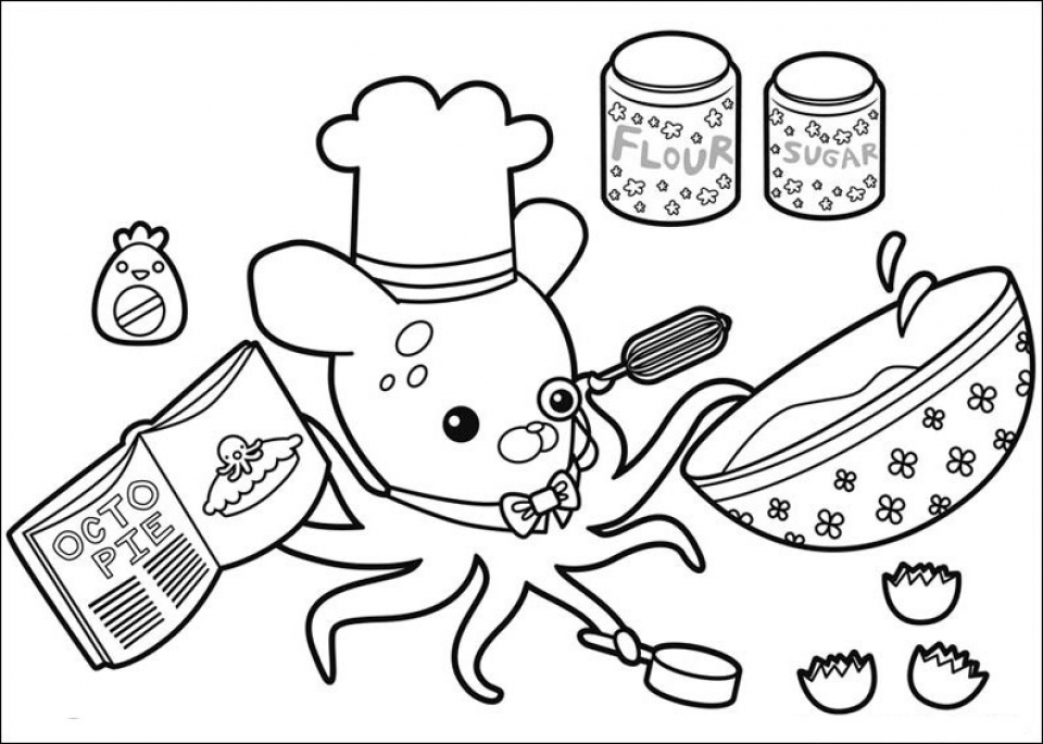 Get This Octonauts Coloring Pages Online 16305