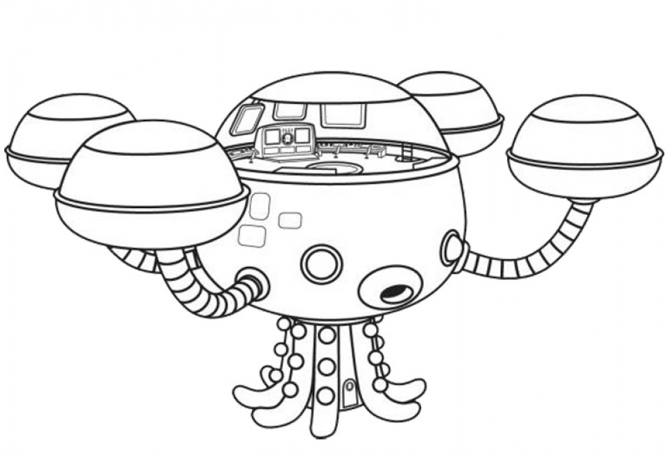 Get Octonauts Coloring Pages Printable