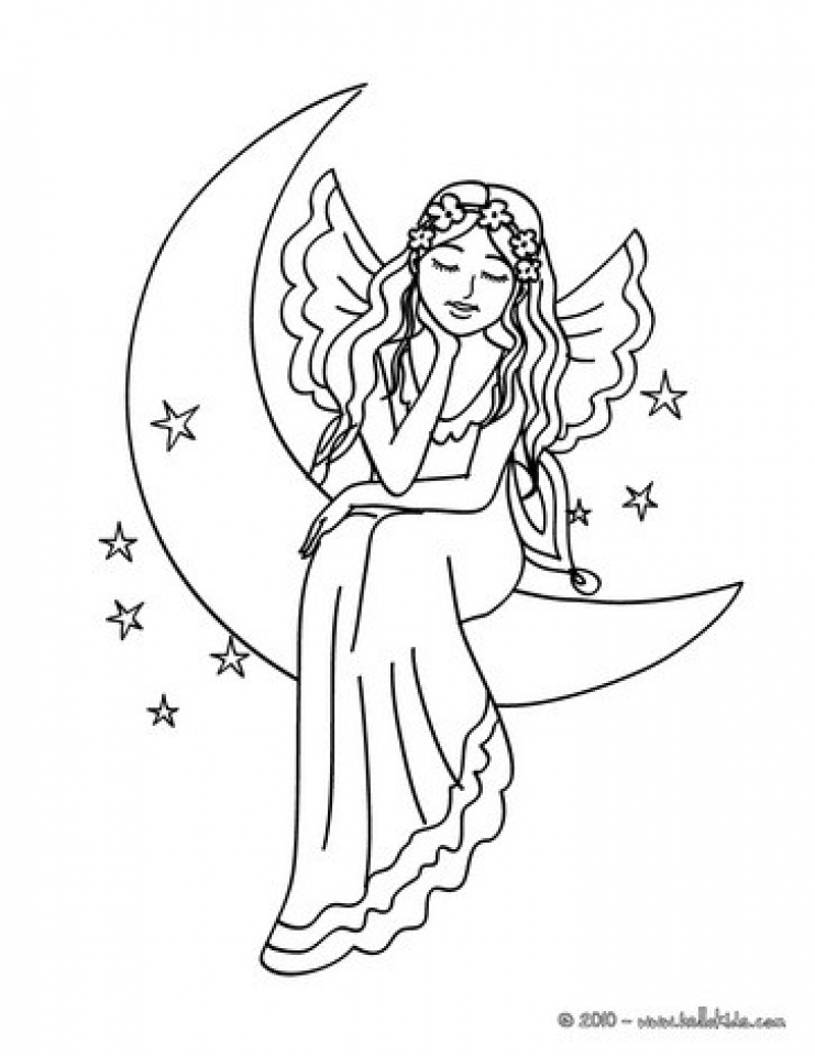 Get This Online Fairy Coloring Pages 83389