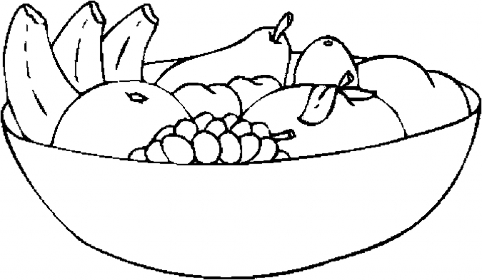 Get this online fruit coloring pages 43146 for Coloring pages to color online for free