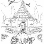 sofia the first coloring pages family | 20+ Free Printable Sofia the First Coloring Pages ...